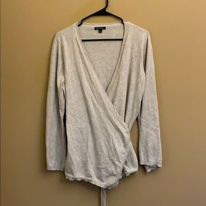 J. Crew Mercantile wrap sweater
